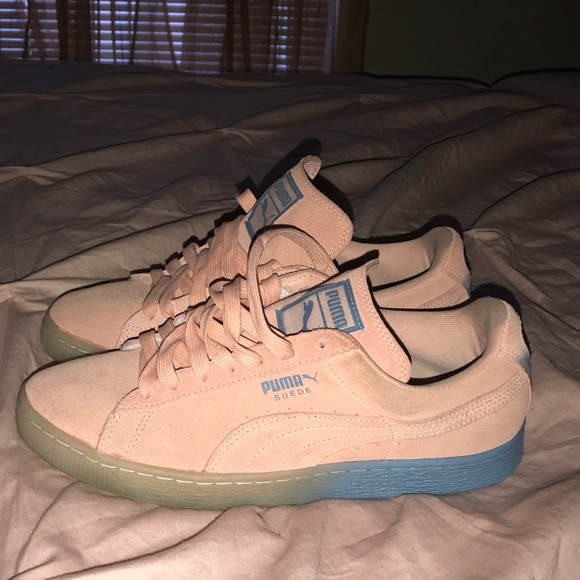 x Suede ClassicsCoral Pink PUMA Dolphin Pink Qrthsd